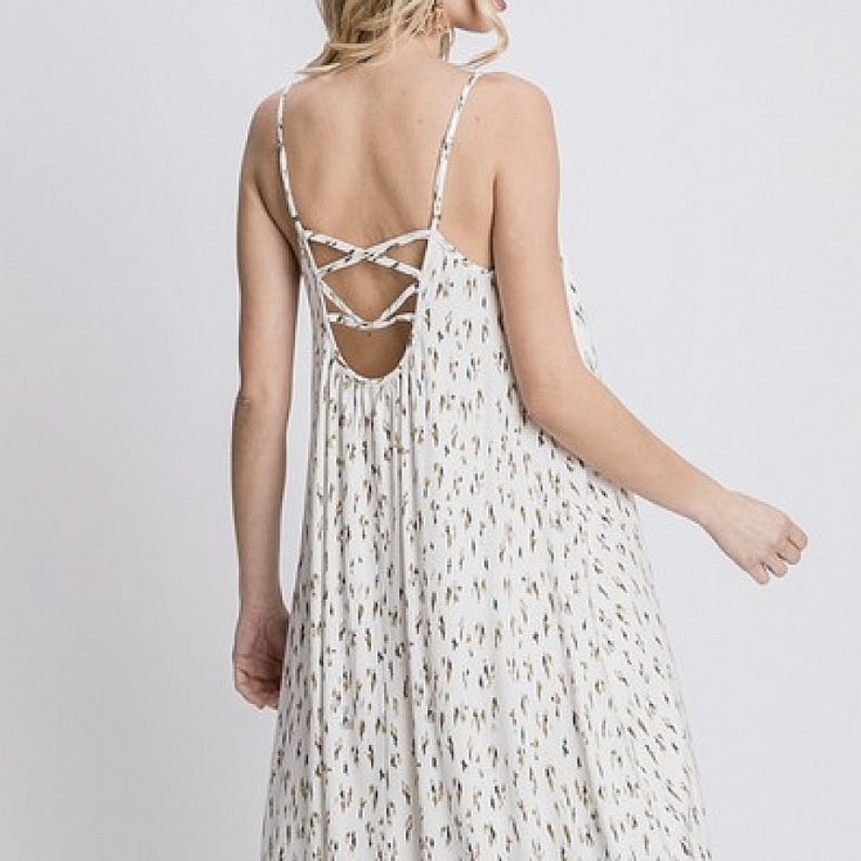 Point Of View Maxi Dress
