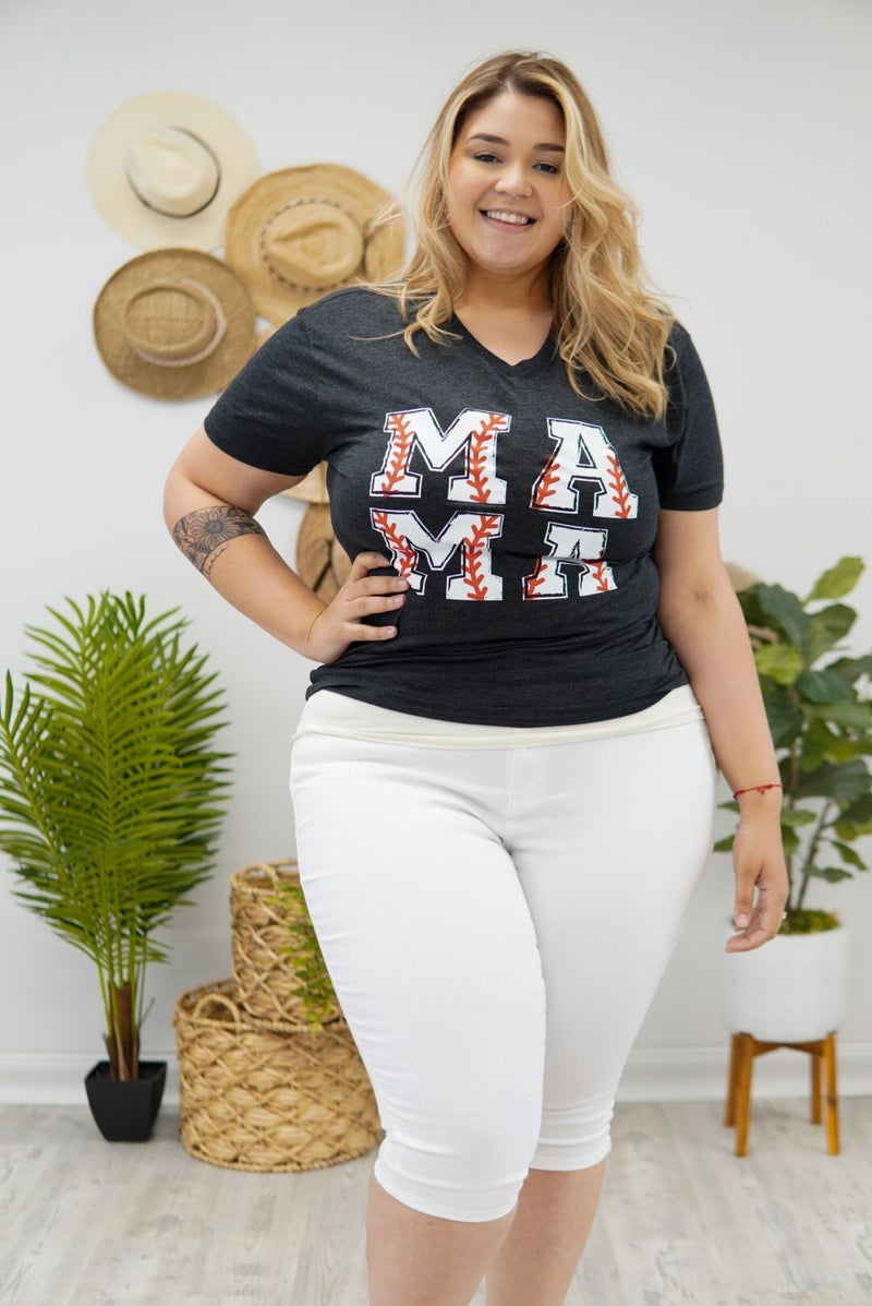 Baseball Mama Top