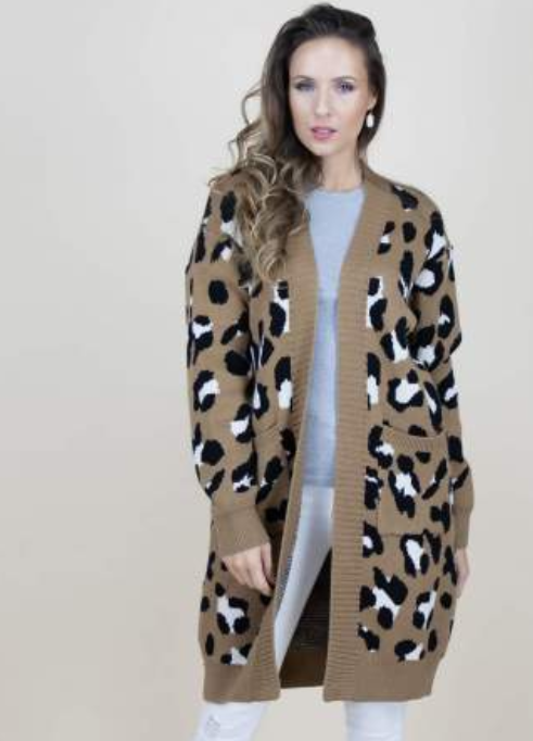Meant To Be A Leopard Cardigan