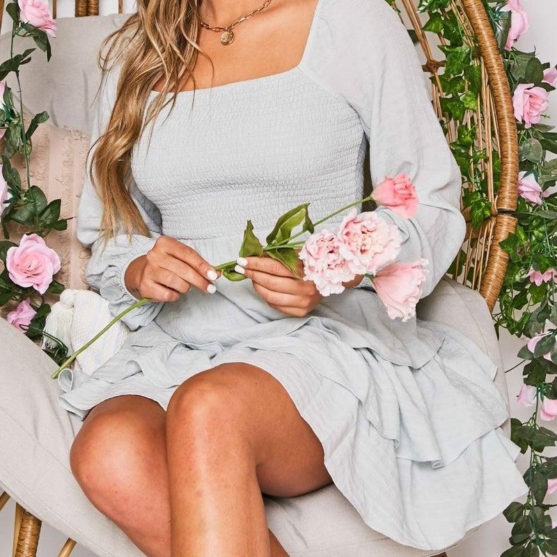 Smocked And Flirty Spring Dress