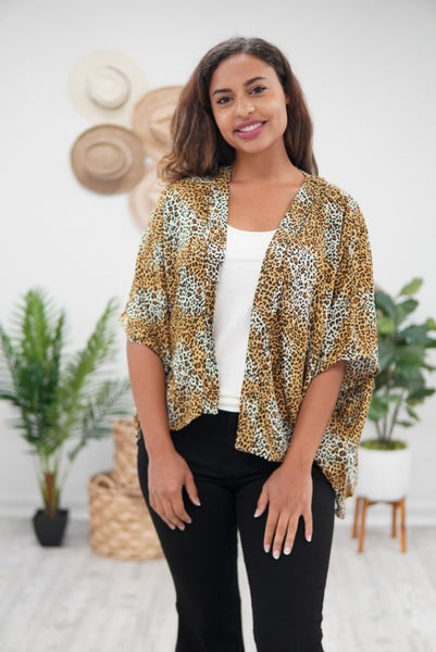 Leopard Like You Mean It Kimono
