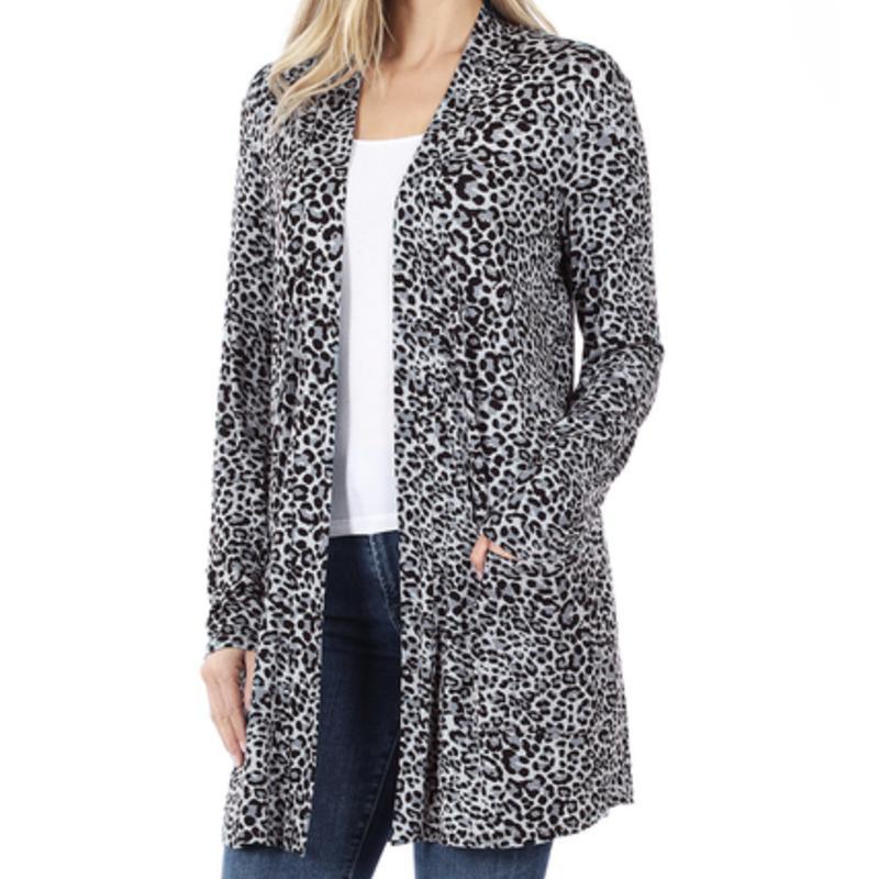 Cheetah Girl Cardigan