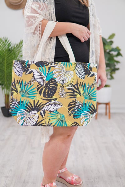 Tropical Vibes Tote Bag