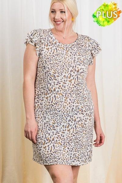 Wild Animal Dress *Final Sale*