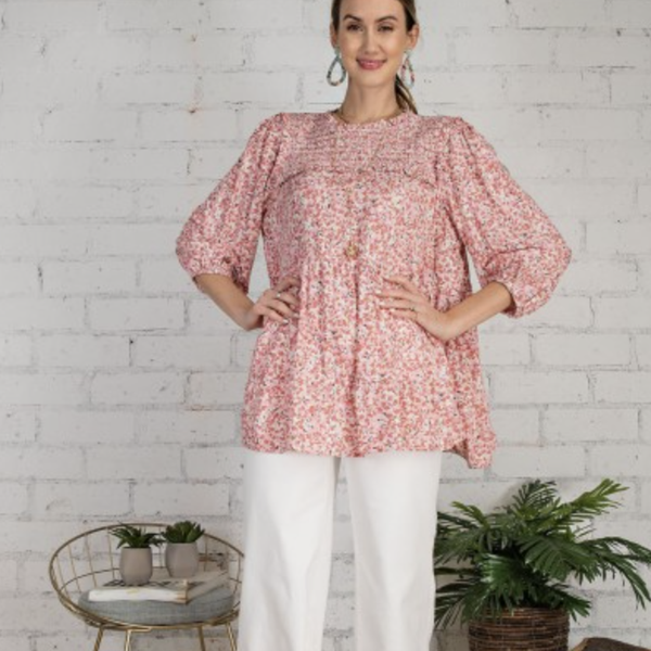 Pretty Picnic Blouse