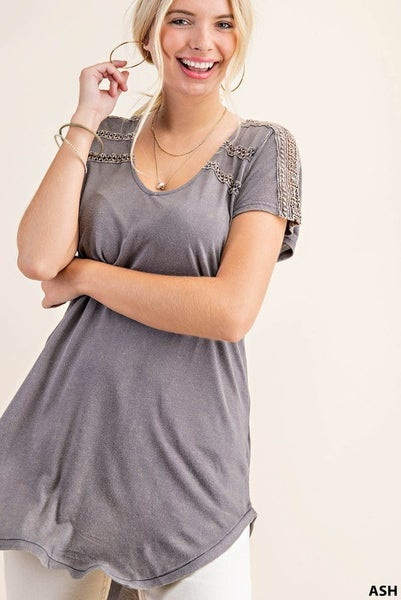 Light and Airy V neck Tunic