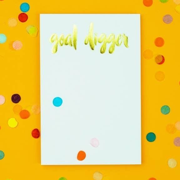 Goal Digger Notepad