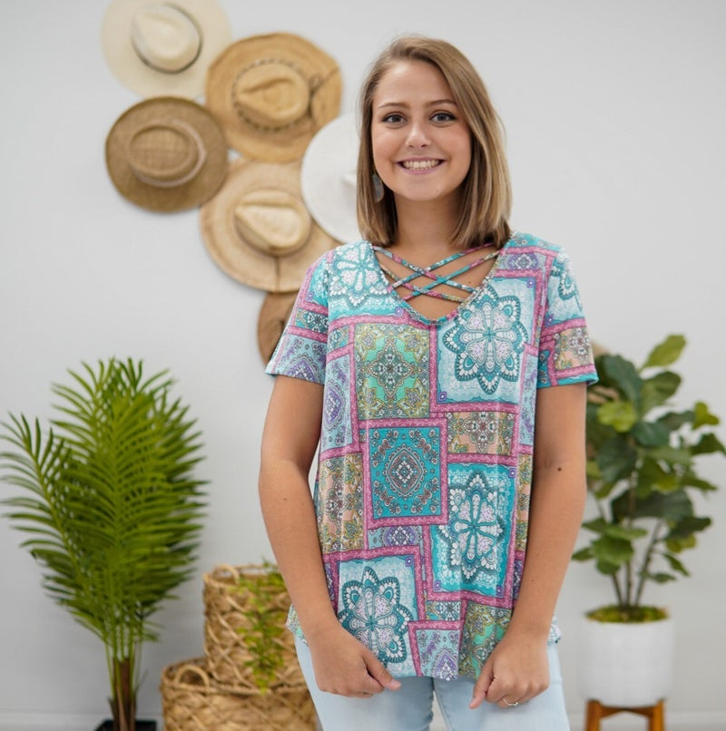 Patchwork Lovely Top