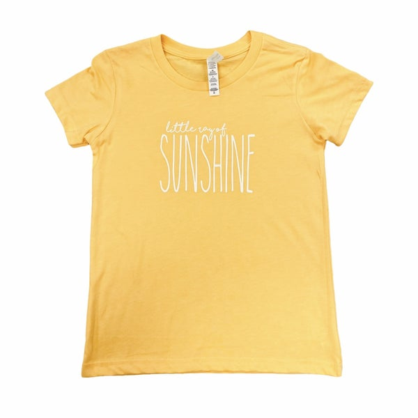Little Ray Of Sunshine Kids Tee