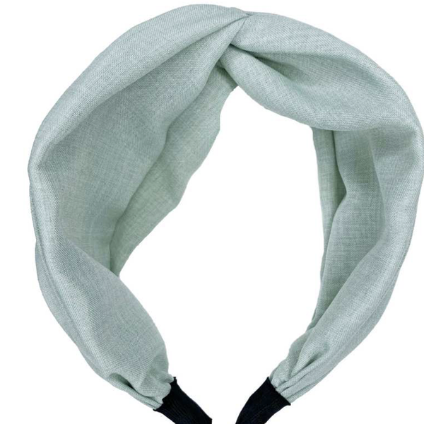 Linen Twist Headband