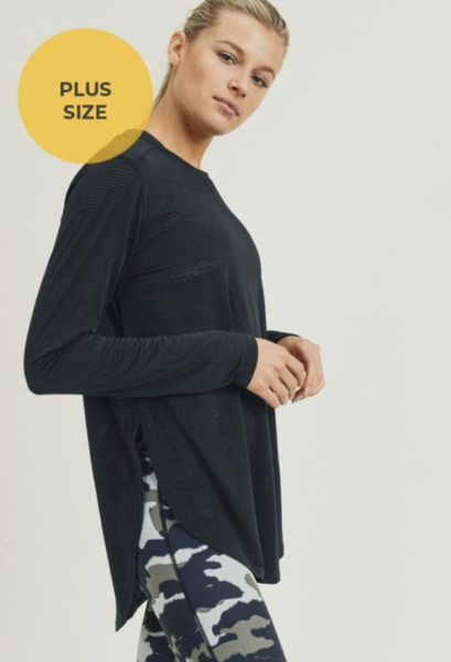Magnificent Mesh Long Sleeve Top