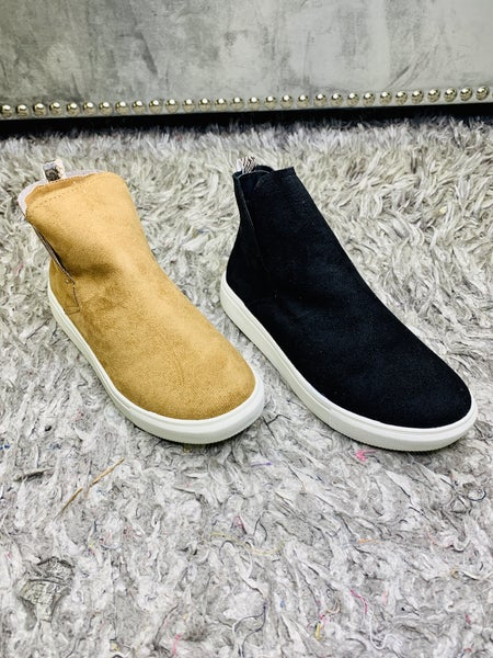 Ankle High Slip-Ons