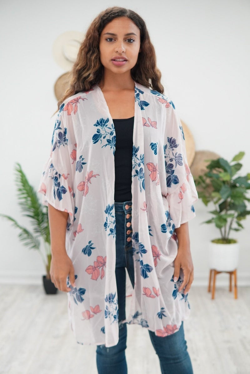 The Ruffled Kimono *Final Sale*