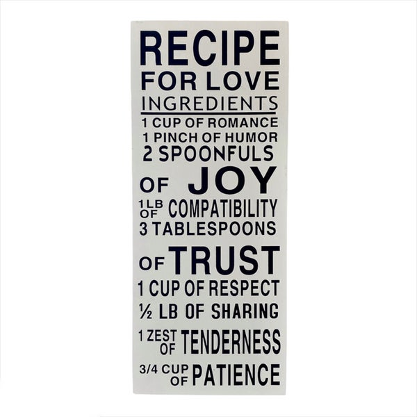 Recipe For Success Decor