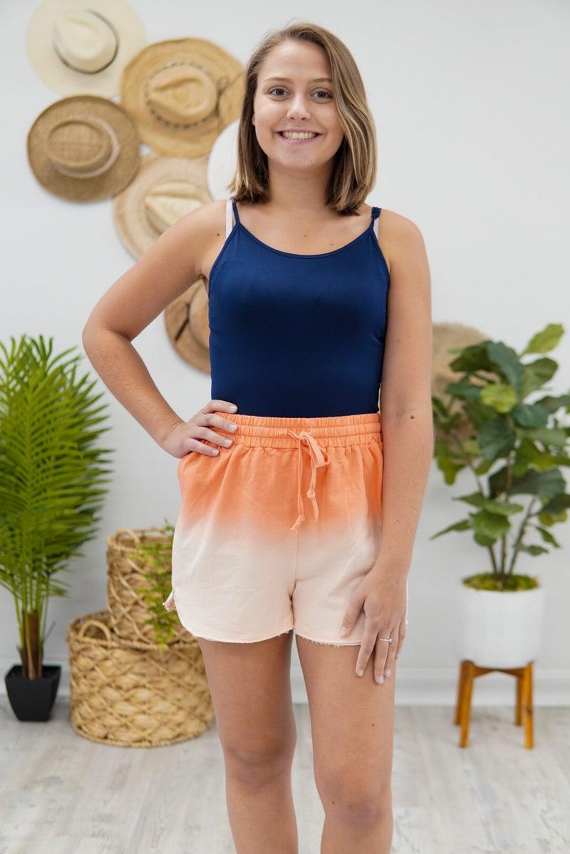 Dip Dye Shorts