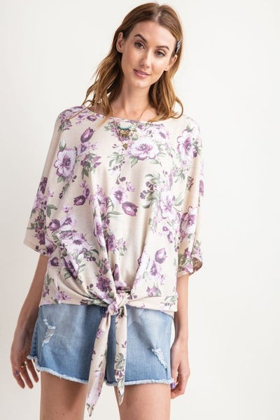 Tied Up In The Garden Top *Final Sale*