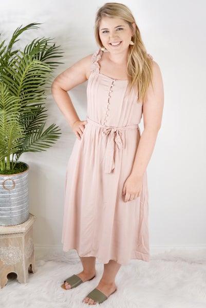 Romantic Ruffle Dress *Final Sale*