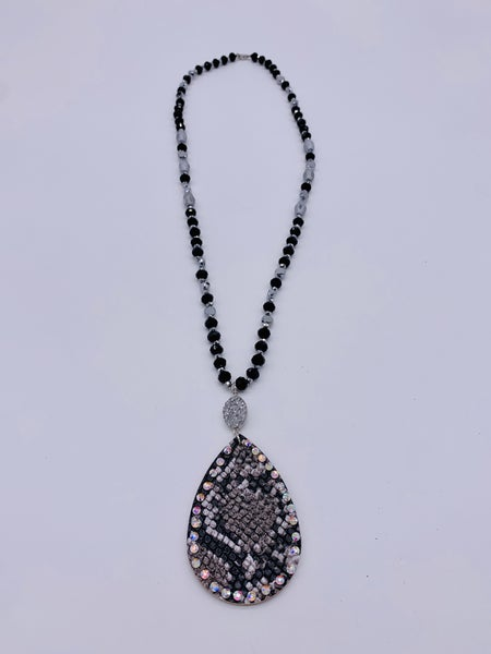 Snake Eyes Necklace