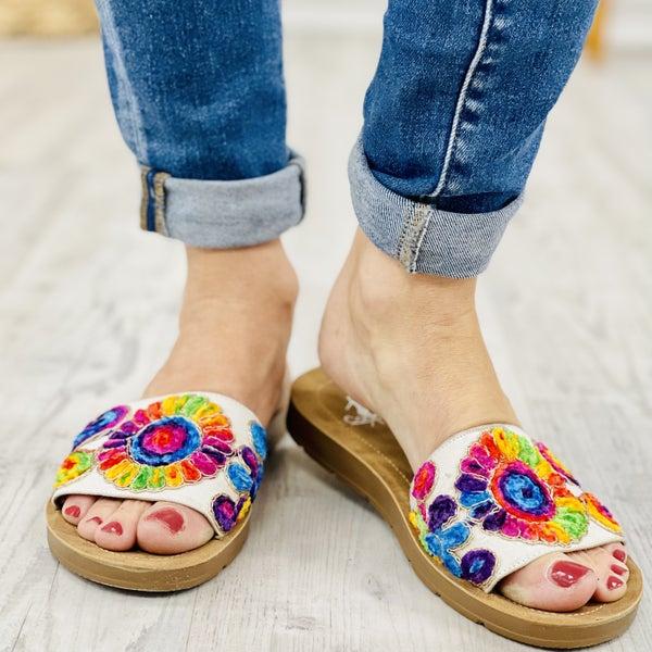 Corky's Pinwheel Shoes