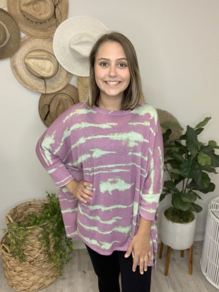 Electric Stripes Top