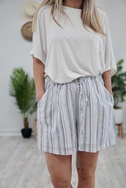 Boho Striped Shorts