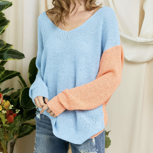 Around The Block Sweater