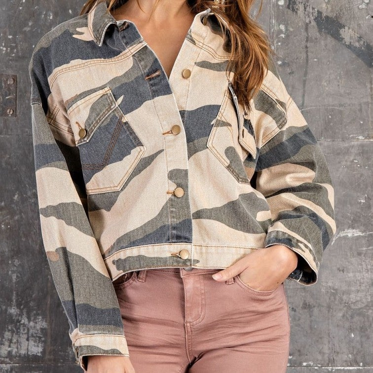 Camo Styling Jacket