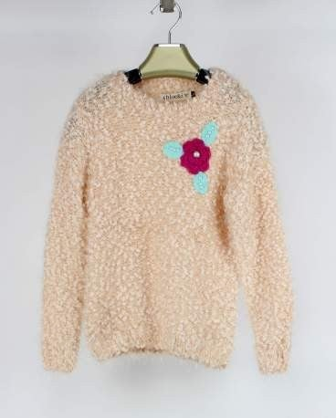 Sweet Blossom Girls' Sweater