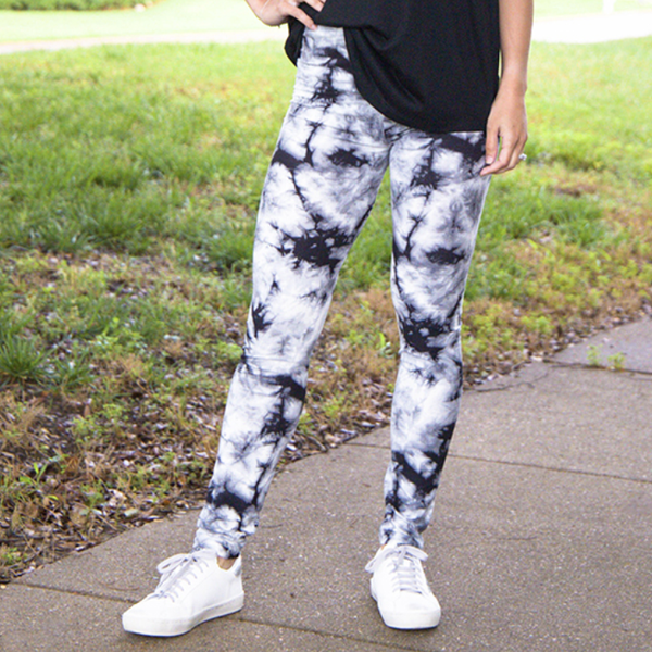 Soft Seeker Smoky Tie Dye Leggings