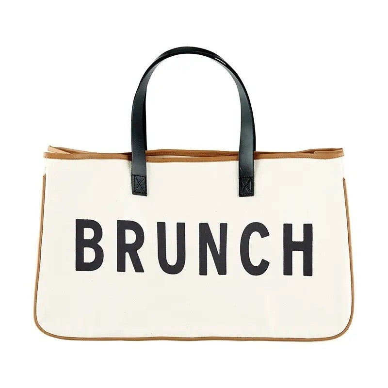 Statement Canvas Tote