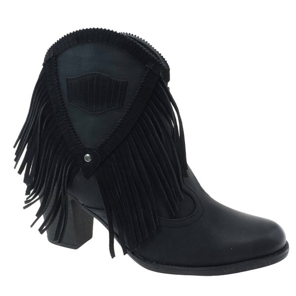 Fringed Fabulous Bootie