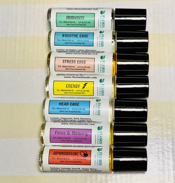 Floris Naturals Essential Oil Synergy Rolls *Final Sale*