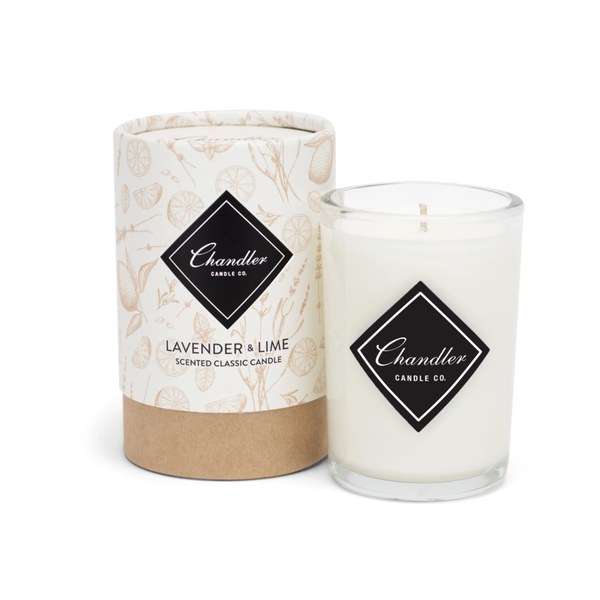 TAKEOVER- Chandler Candle Co Lavender Lime Classic Candle