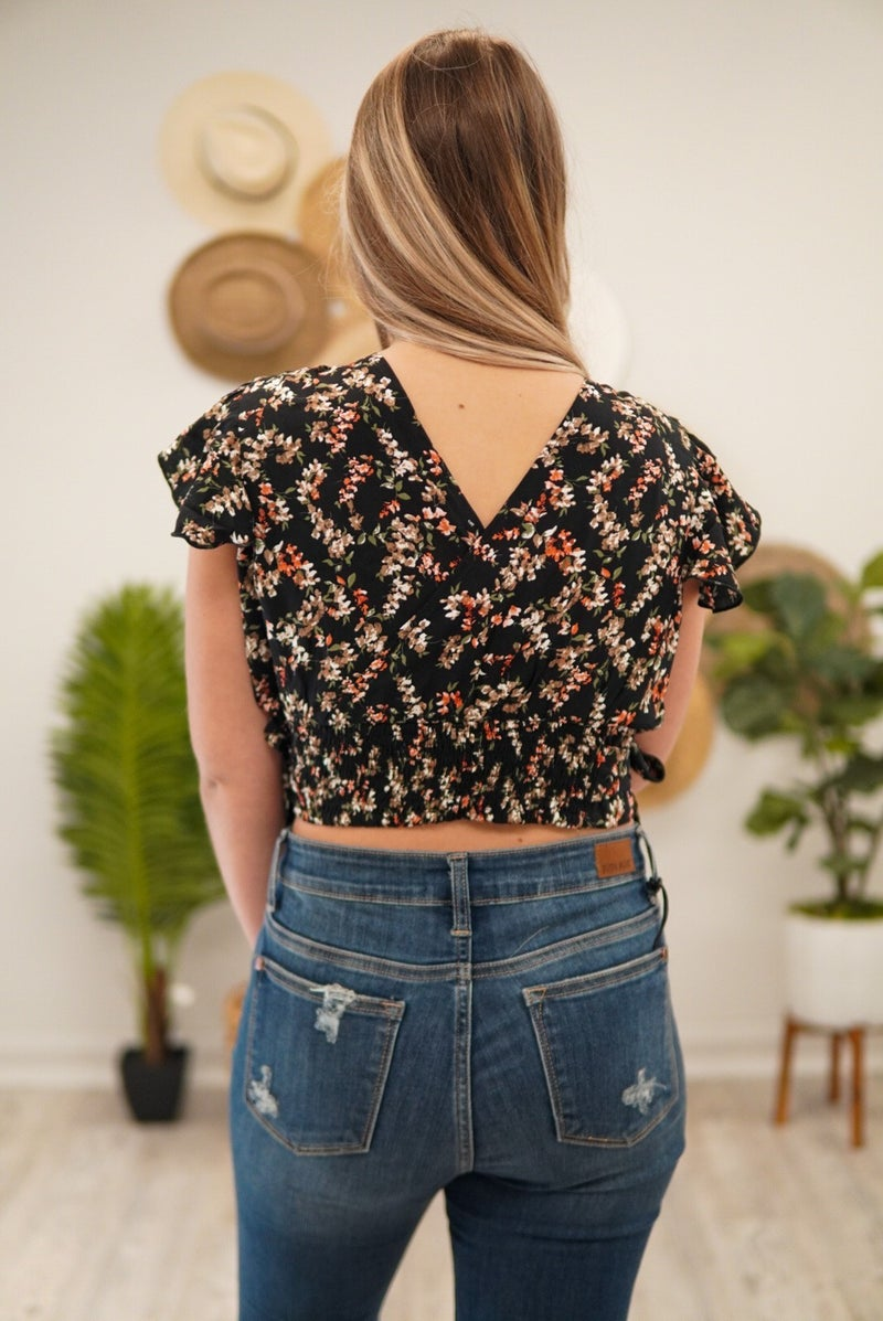 Forever Yours Floral Crop Top