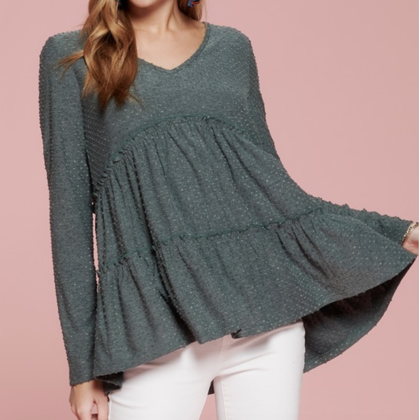 Swiss Tiered Top