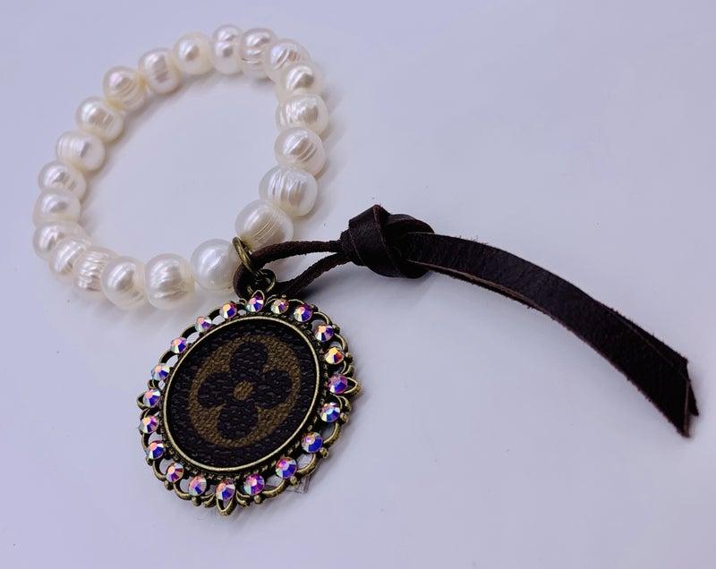 Classy Yet Sassy Boujee Pearl Bracelet
