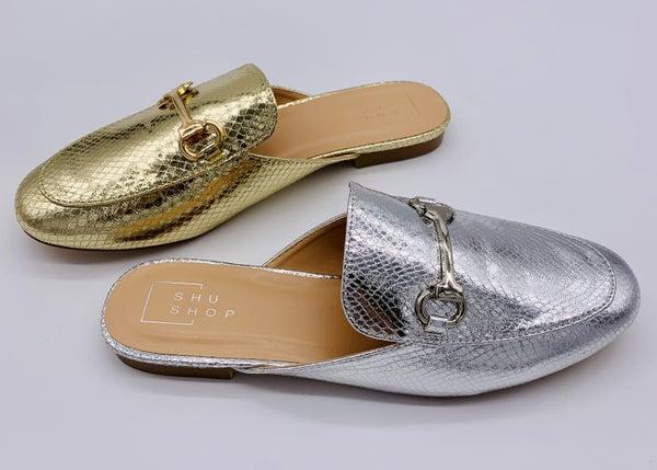 Feelin' Fashionable Slip-On Mules