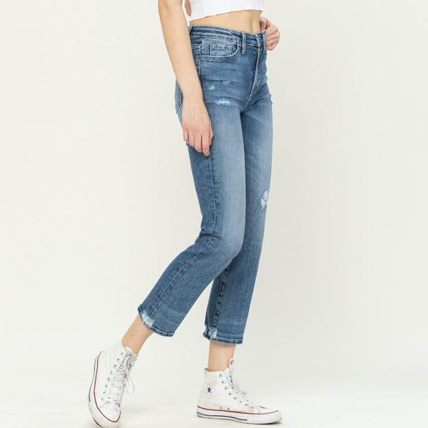 Thalia Cropped Jean By Vervet