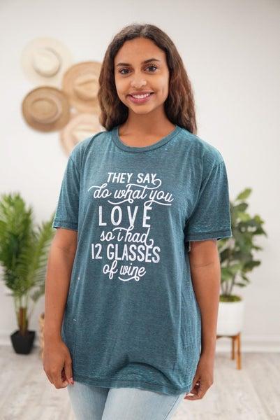 12 Glasses Top