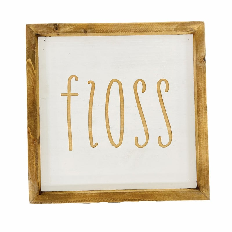 Floss Wood Sign