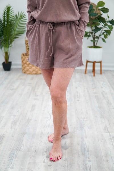 Waffle Knit Bae Shorts