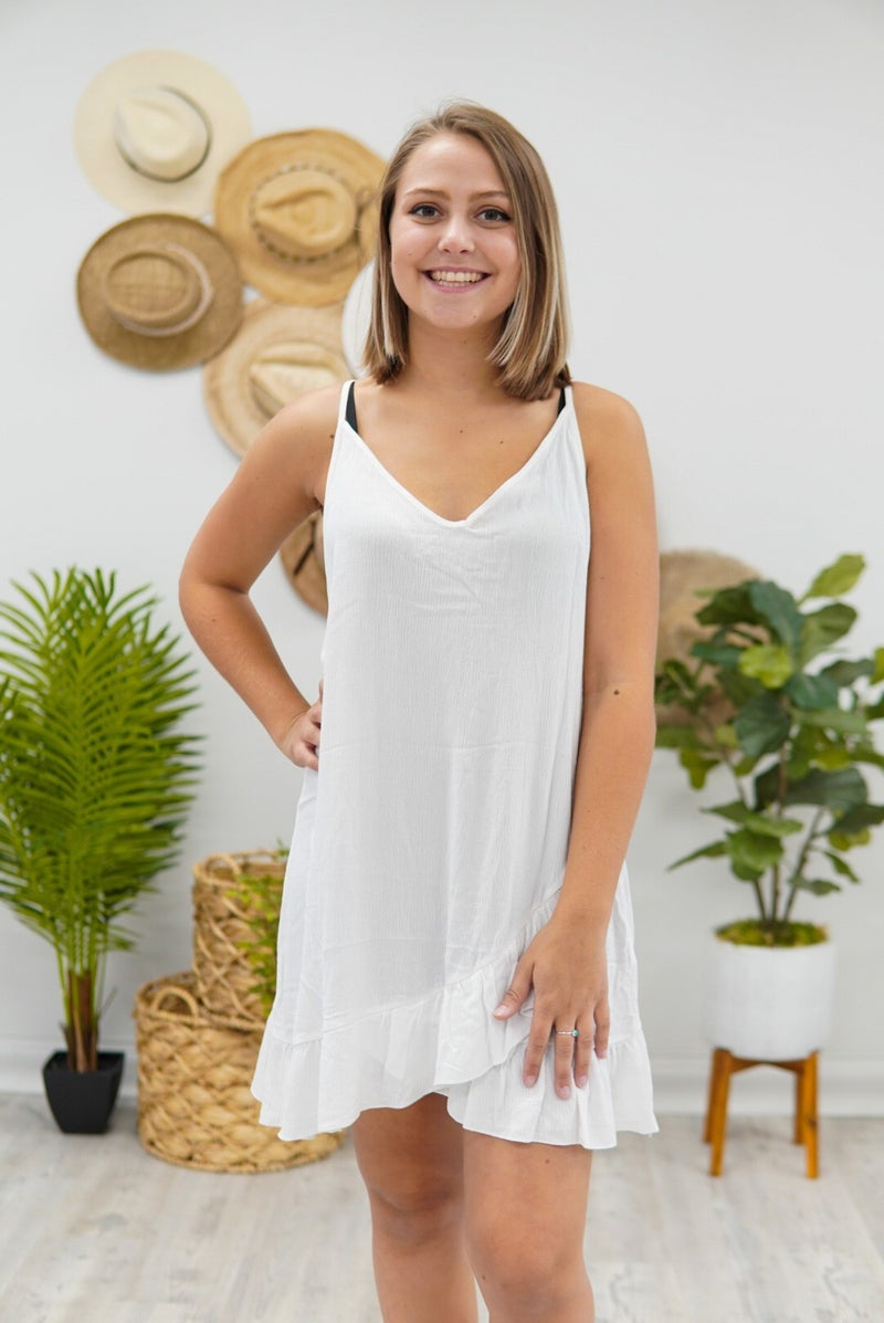 Tatoo Mesh Back Slip Dress
