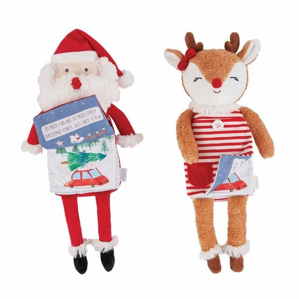 Christmas Plush Books