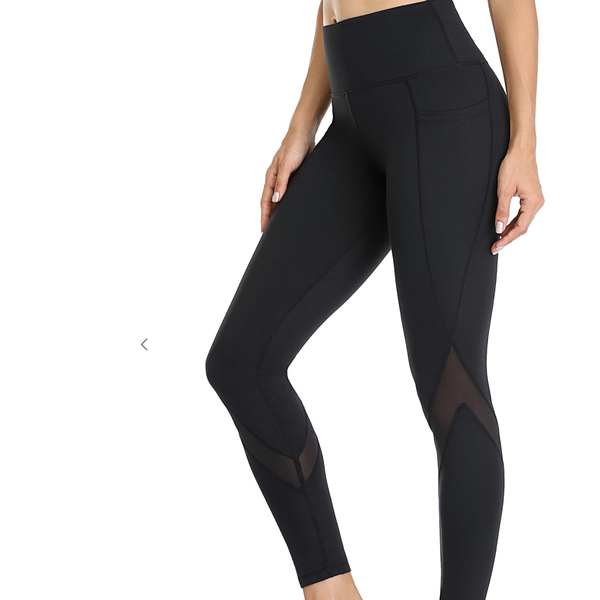 Add Some Spice Mesh Leggings