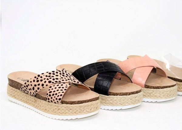 Spot On Sandals *Final Sale*