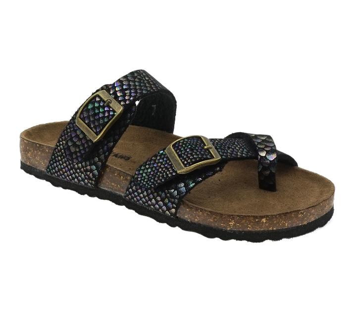Girl's Double Buckle Sandals