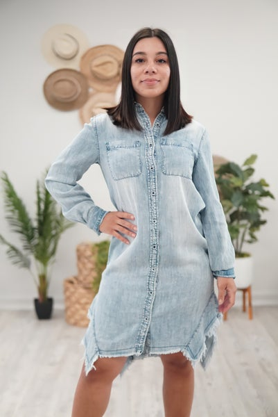Denim Dame Dress