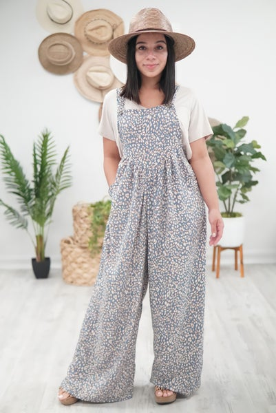 Wild Animal Overall Jumpsuit