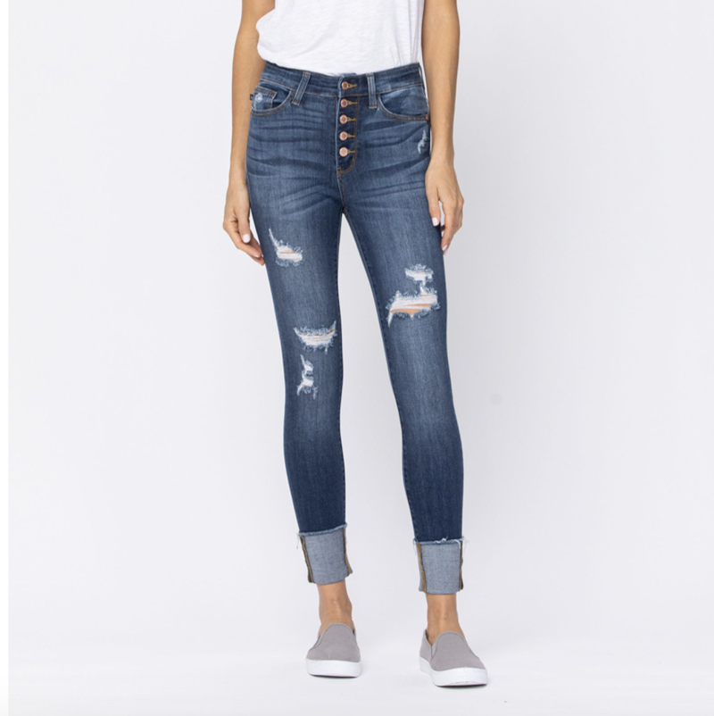 Judy Blues Colorado Cropped Jeans