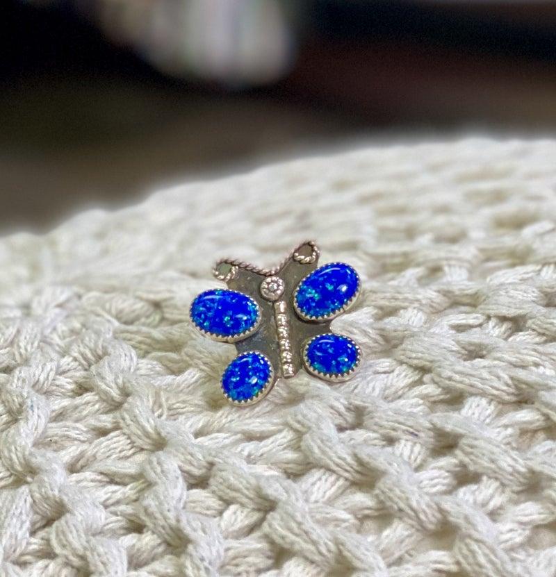 M&S Opal Butterfly Ring